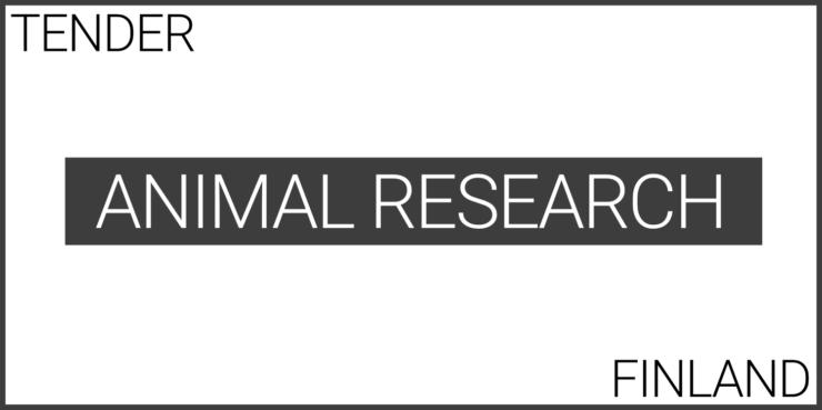 experimental animal sereash in finland tender supplies functional design