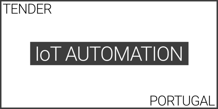 iot automation of electric panels in portugal tender